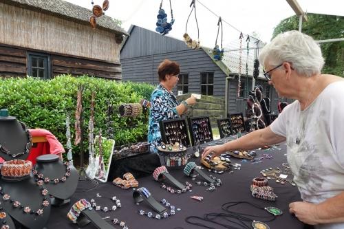 Impressie foto kunstmarkt Wezup Drenthe 2019