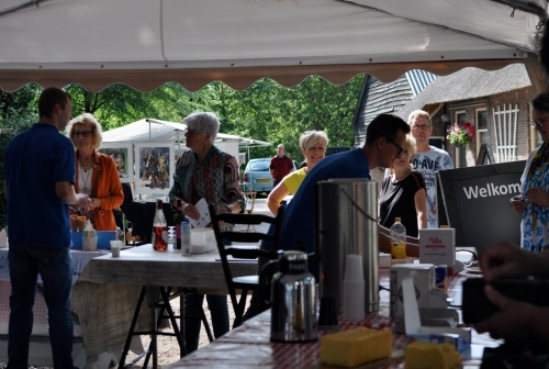 Impressie foto kunstmarkt Wezup Drenthe 2019 Catering Boertip