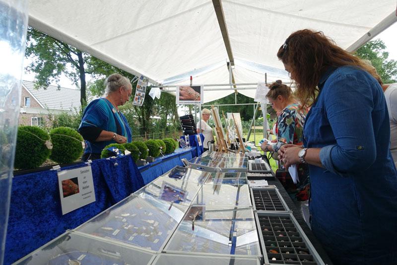 Zilveren sieraden van Annetjes Sieraden deelnemer Kunstmarkt Wezup