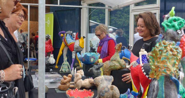 Figuratieve beelden van Zus & Zo deelnemer Kunstmarkt Wezup