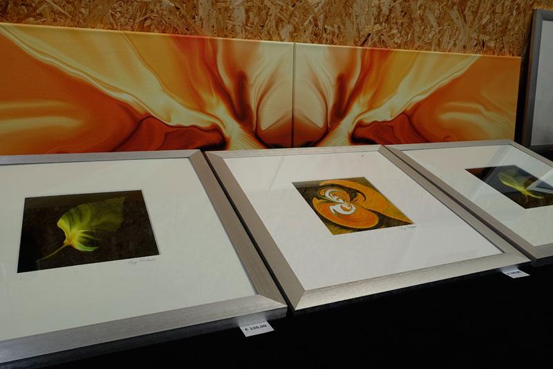 Digi-art van Faye Postma deelnemer Kunstmarkt Wezup