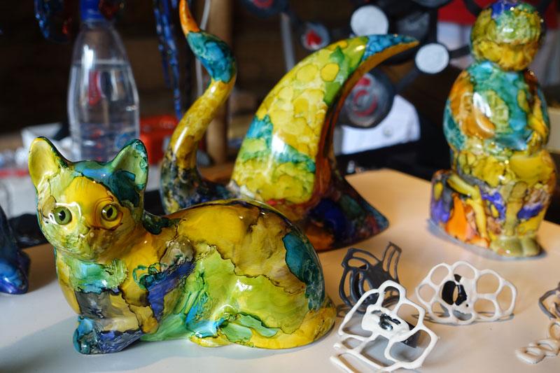Kunstatelier de Kranenborg deelnemer Kunstmarkt Wezup 2019
