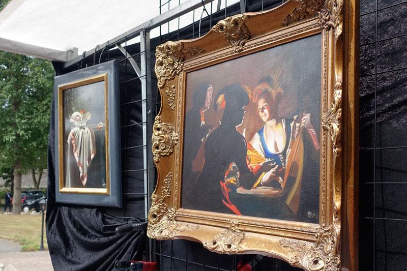 Schilderijen van Rinus Buijs deelnemer Kunstmarkt Wezup 2019