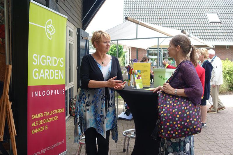 Sigrid;s Garden deelnemer Kunstmarkt Wezup